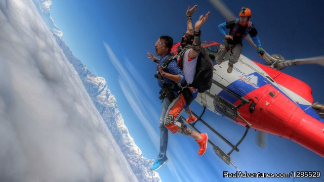 Skydive Over the Everest