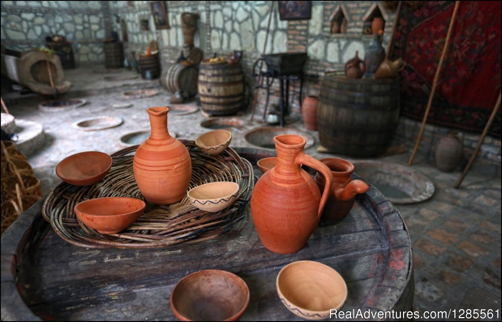 Georgian wine vessels | Image #8/10 | Full Day Private Wine Tour