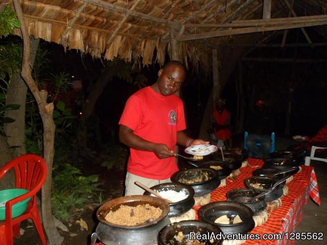 Local lunch in Mto wa Mbu Village - Touch of Earth