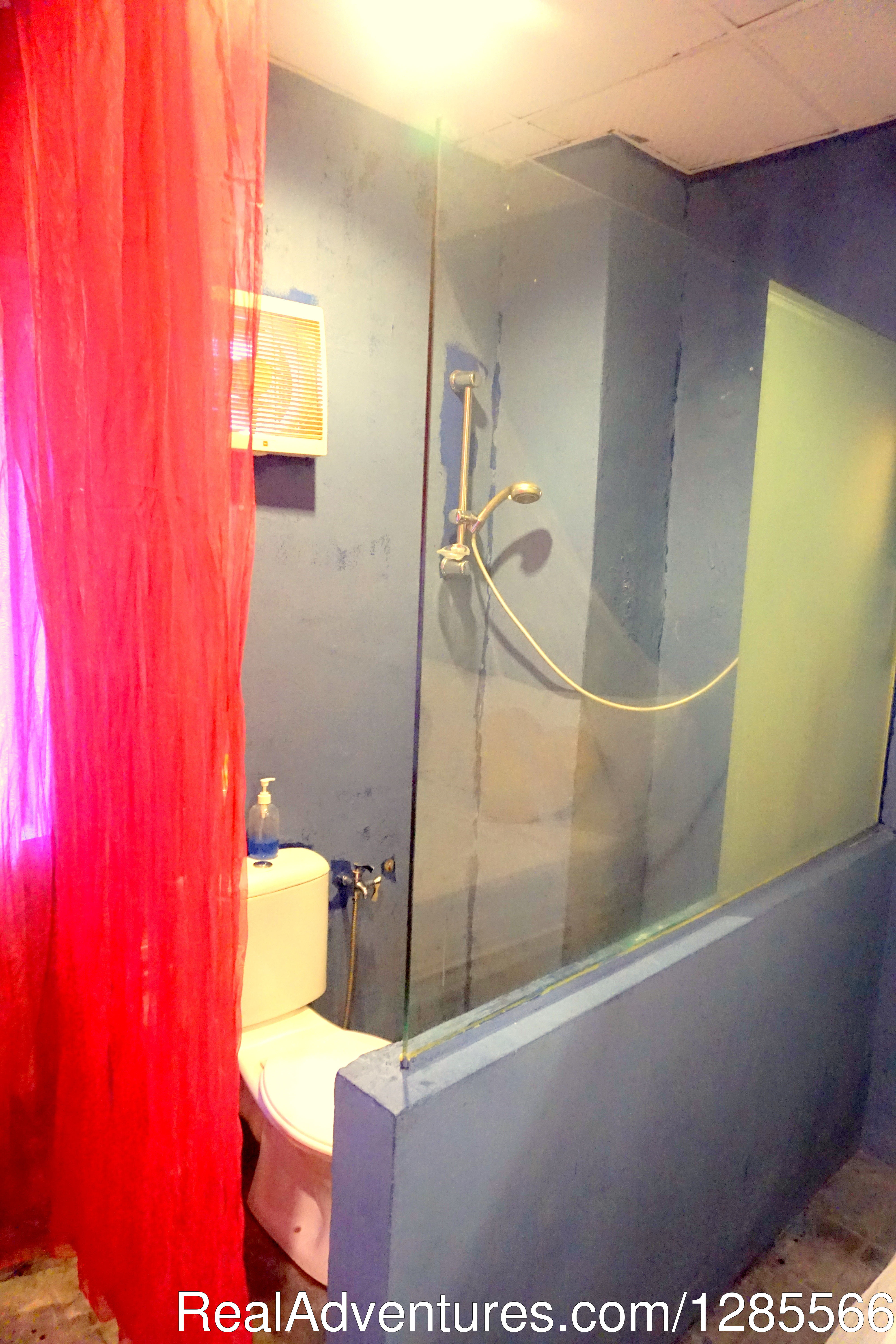 Attached bathroom 1 | Image #6/10 | Tropical Guest House Kuala Lumpur