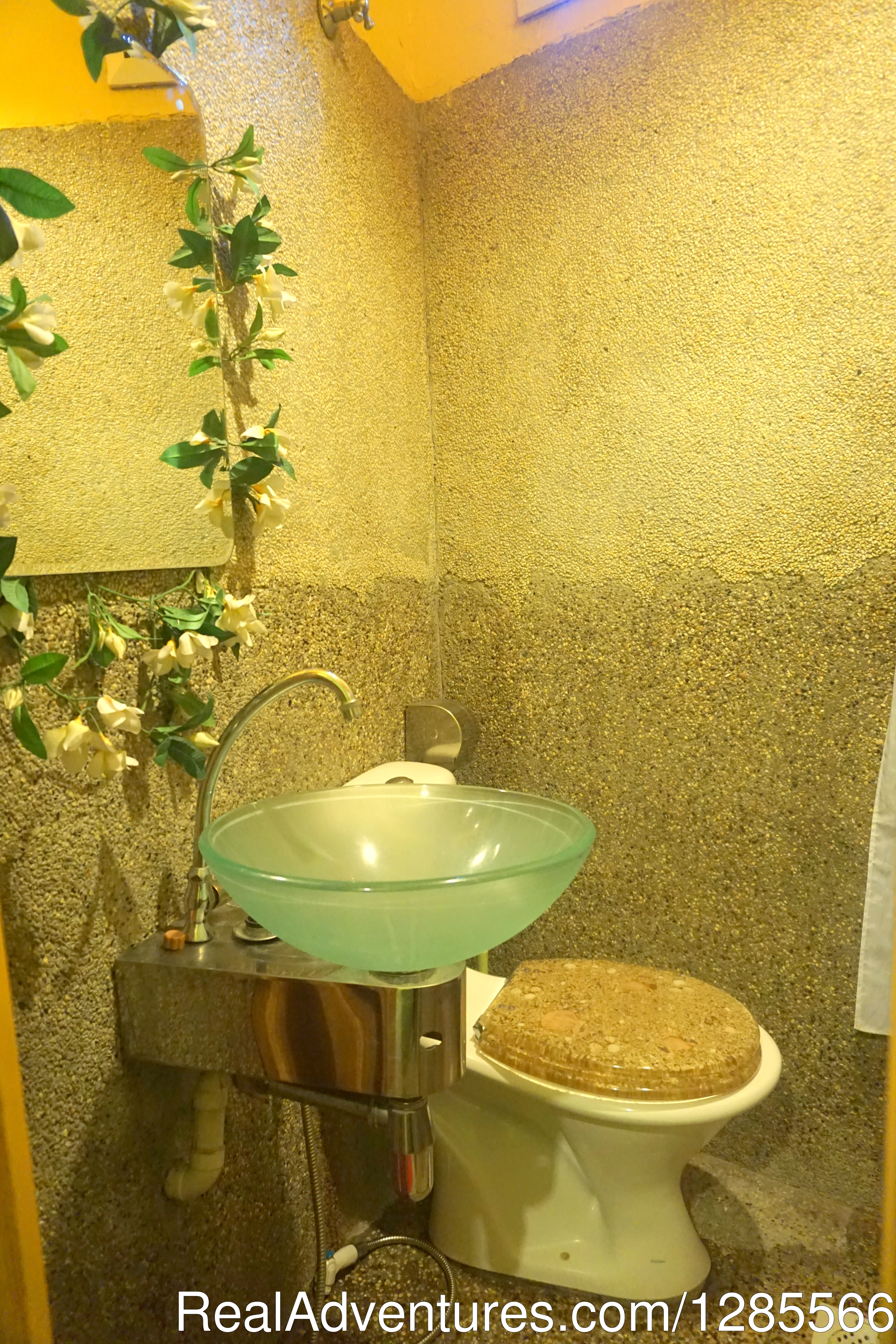 Attached bathroom 2 | Image #7/10 | Tropical Guest House Kuala Lumpur