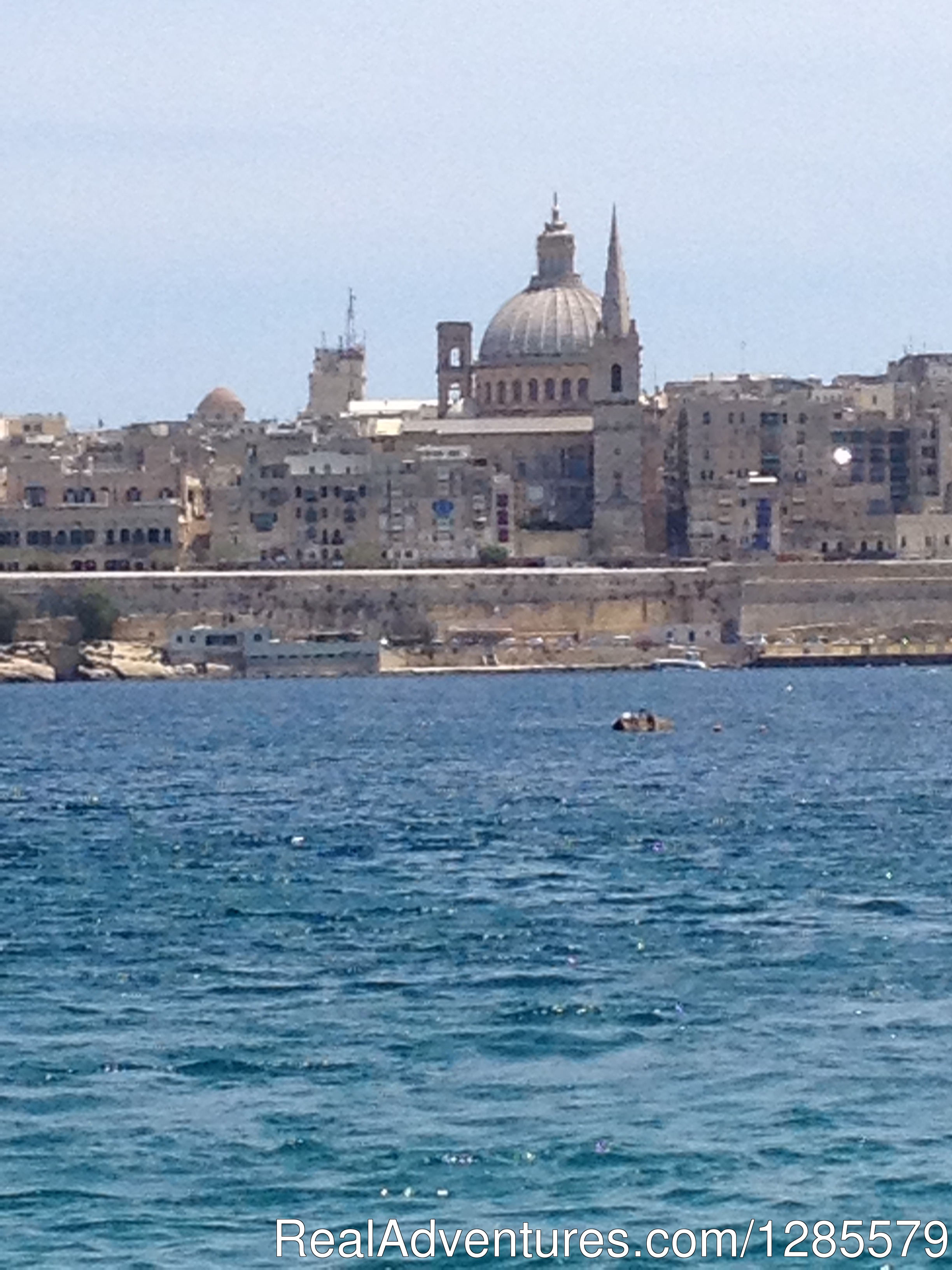 View from Sliema Ferries.