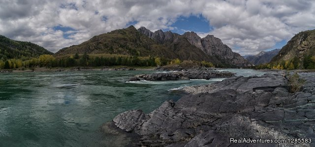 Taldurinskie Rapids in Altai - Travel Adventure tour in the Altai Mountains