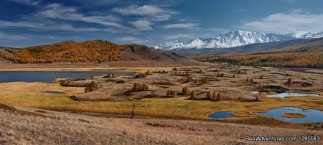 Eshtykel Plateau in Altai - Travel Adventure tour in the Altai Mountains