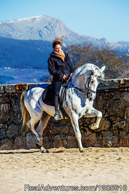 Horseback riding in Spain, Madrid in national park