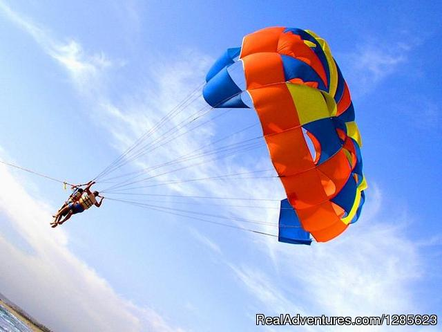 Water Sports combo pack at Aqua Sports Goa Calangute, India Parasailing