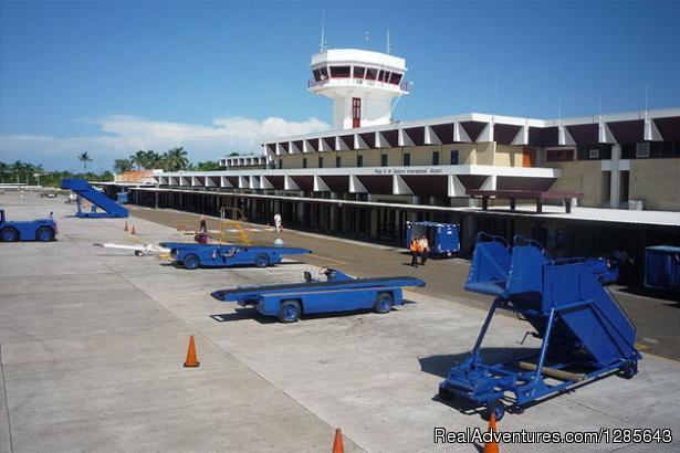 Philip Goldson International Airport, Front View - Belize Shuttle, Airport Shuttle Service