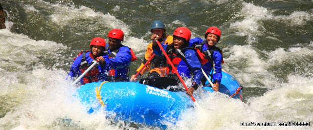 White water rafting at Estes Park - MAD adventures Rafting Trips Colorado Springs, Colorado