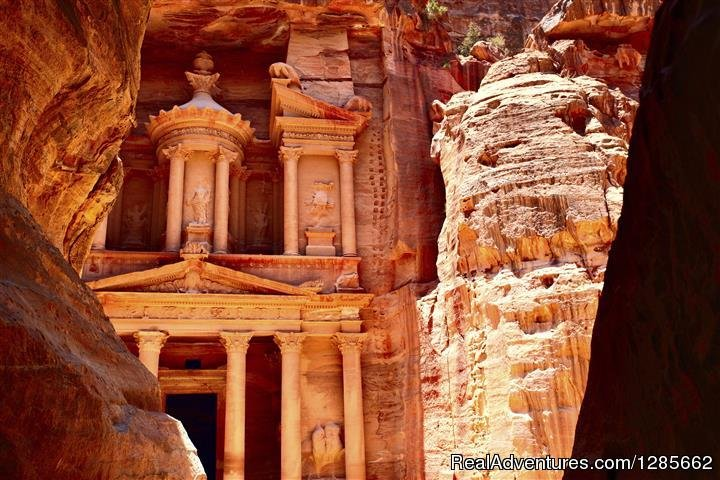 Tour Petra, one of the Seven Wonders of the World.  Take a walk back in time, through the astounding site of Petra.  The sites are amazing, and be prepared to enjoy every moment of the tour.