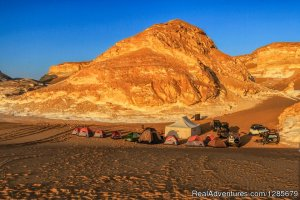 AhmedDesertSafari Bawiti city, Egypt Eco Tours