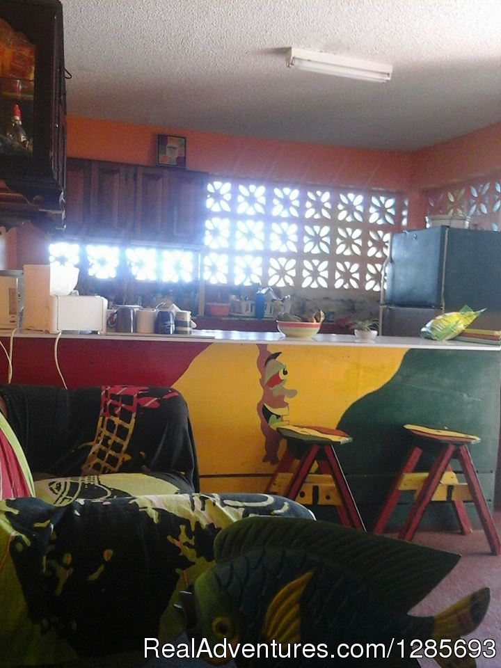Kitchen / Office | Image #3/6 | Ocho Rios Hostel