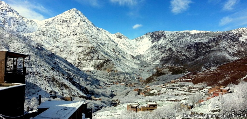 Spring snows in Berber Village
