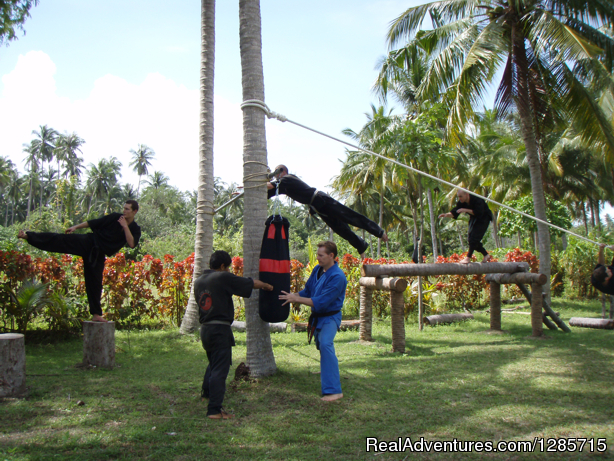 NinjaGym Obstacle Course - Ninja-MMA Martial Arts & Fitness Camp Thailand