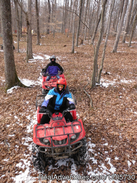 eXplore Brown County ATV/Buggy Tours Nashville IN, Indiana ATV Trips