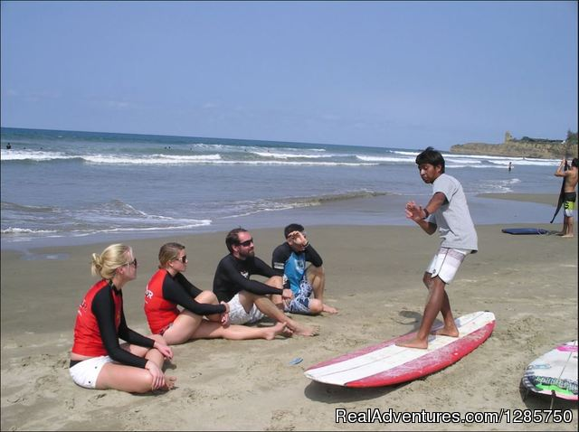 14 Day Surf Camp in Las Tunas, Ecuador