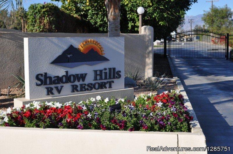 Welcome to Shadow Hills- a Five Diamond RV Resort! Book today for long term stays or for a weekend get away!