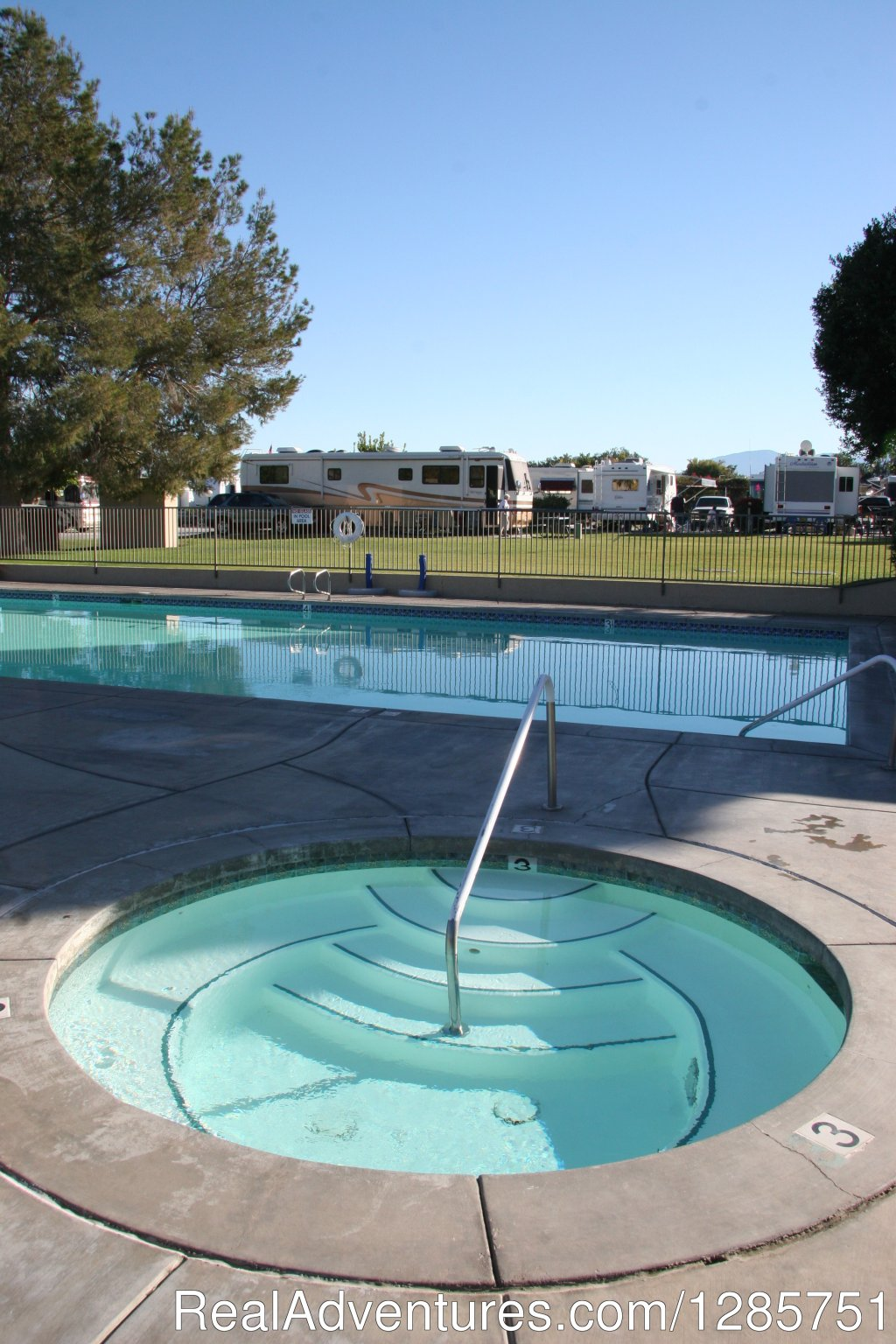 Saltwater pool and hot tub | Image #3/7 | Shadow Hill RV Resort