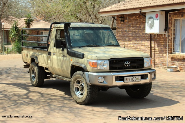 Vehicle - African Bush hunting and safari