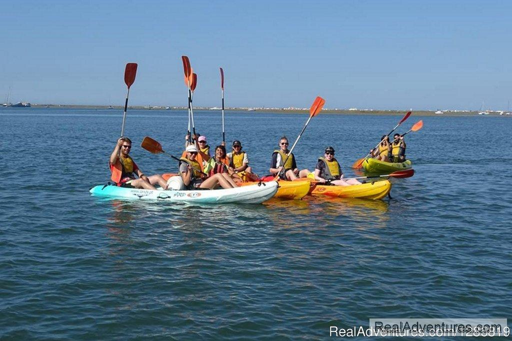 Have fun kayaking in the Algarve | Image #5/5 | Kayaking the Eastern Algarve in Ria Formosa