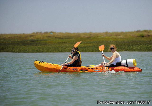 Kayaking the Eastern Algarve in Ria Formosa