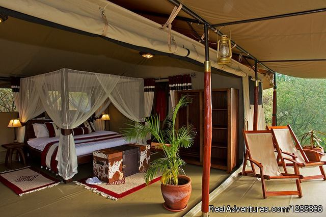 Sample of our Eco friendly Accommodations - Orange Adventures offers Travel, Tours & Safaris.
