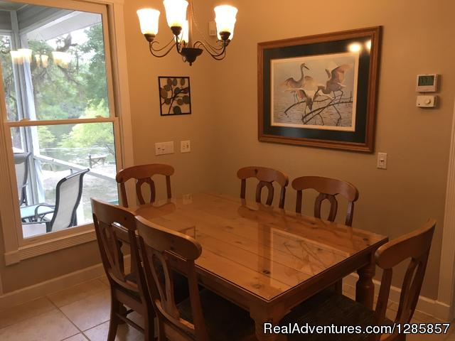 Dining - Luxury Suwannee Riverfront (up to)4 Bed/4 Bath