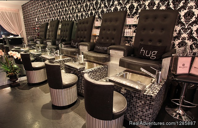 Ozone Oxygen Infused Pedicure Stations - Boutique Spa with World Class Treatments