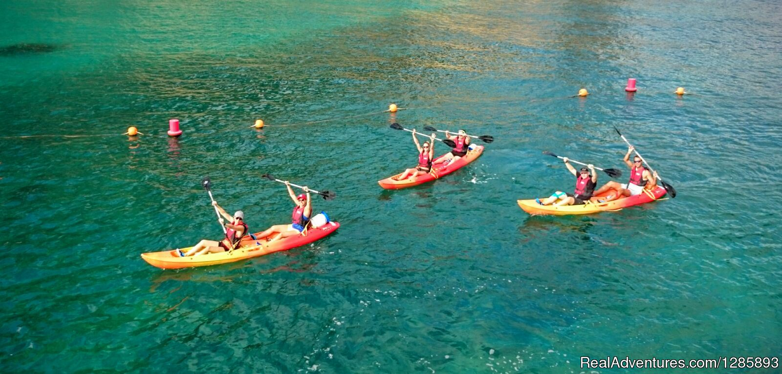 Explore the Costa Blanca coastline by Kayak