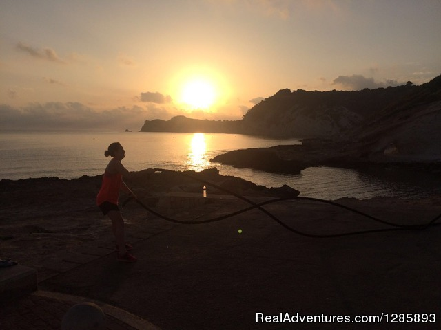 Sunrise Boot Camp Sesions - Fitness & Adventure Boot Camp Holiday in Spain