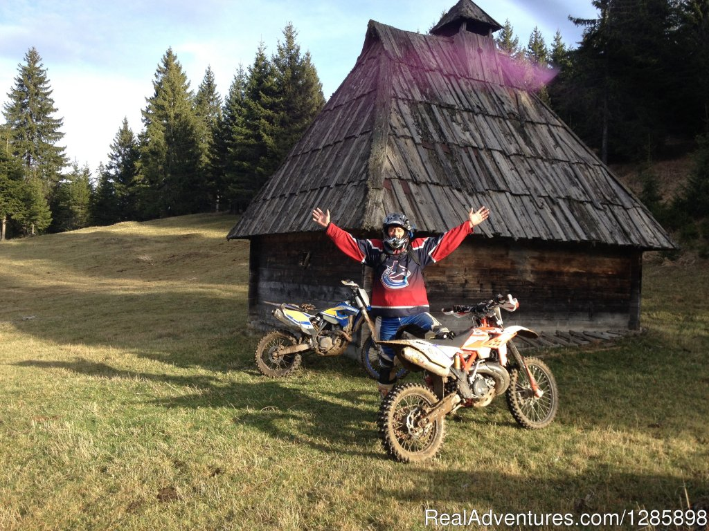 Image #2/5 | Off road motorcycle tours in Serbia