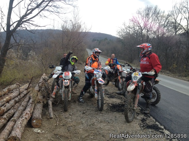 - Off road motorcycle tours in Serbia