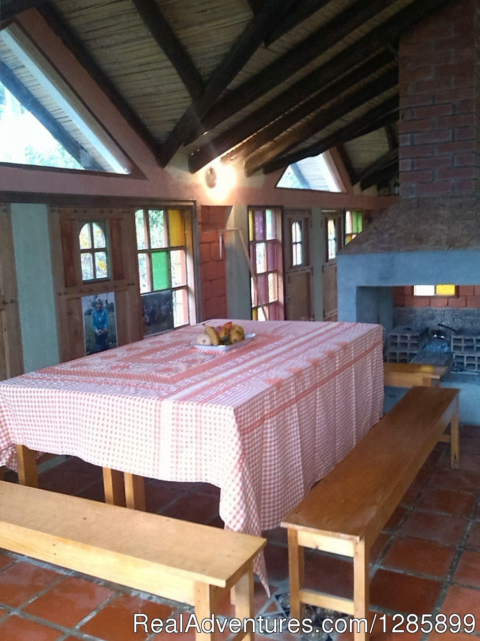 TheLostLeprechaun EcoHostel, Dining Room | Image #3/13 | South Colombia adventure