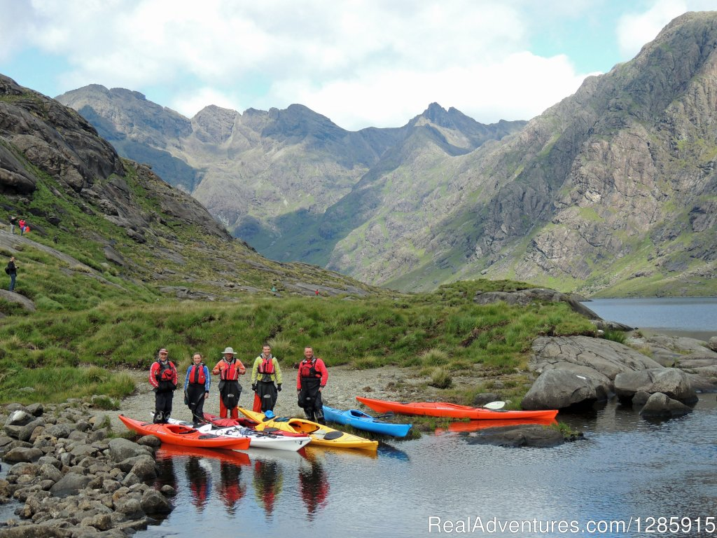 We provide sea kayak and mountain guiding for beginners through to advanced intermediate. Short taster activities by the day or multi day expeditions around our home area of the Applecross peninsula, Torridon mountains and the Isle of Skye.