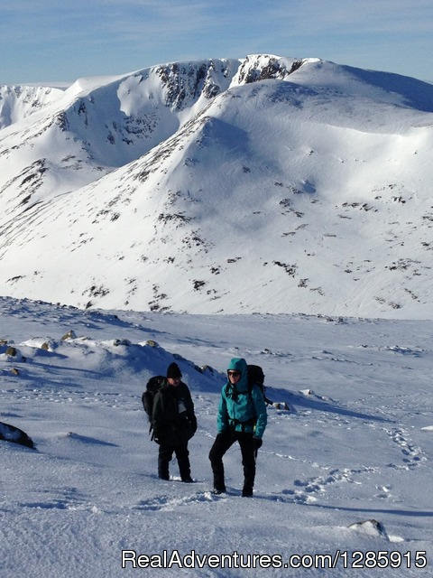 The Cairngorm Plateau Expedition - Sea kayaking & Mountaineering in stunning Scotland