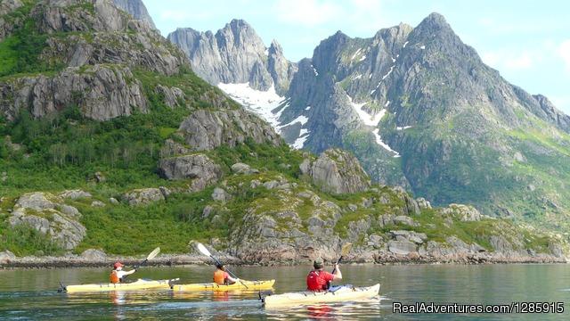 The Arctic Lofoten Islands - Sea kayaking & Mountaineering in stunning Scotland