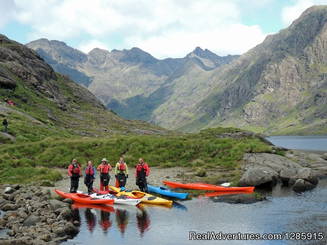 Sea kayaking & Mountaineering in stunning Scotland