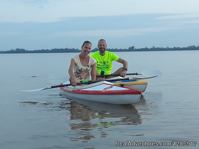 Experience Mekong River by Kayak & Boat Ho Chi Minh City, Viet Nam Kayaking & Canoeing