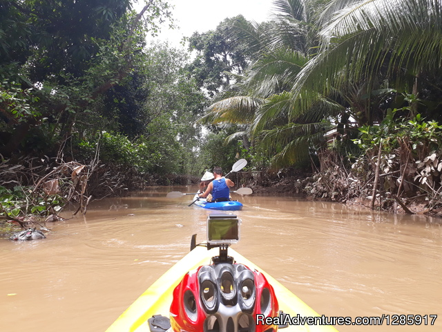 Experience Mekong River by Kayak & Boat