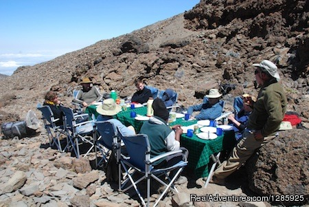 Lunch - 7days mt Kilimanjaro trek, (with hanta expedition)
