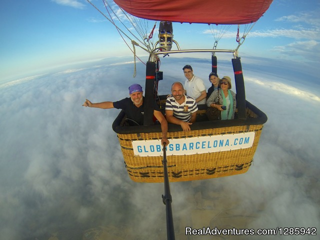 Barcelona Balloon Rides: Balloning over the clouds