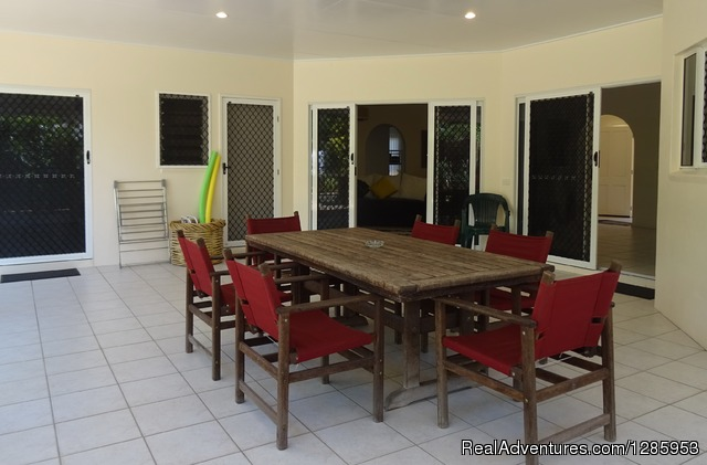 - Palm Cove Holiday House $320 p/n Min Stay 5 nights
