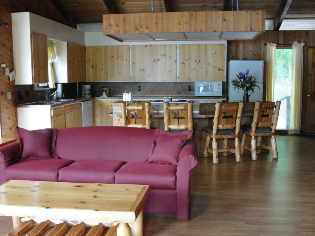 Waterfront - Kitchen | Image #4/10 | Loon Lake Lodge and RV Resort