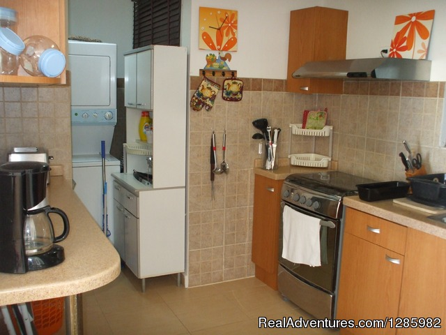 Kitchen - Ocean View 2 bed/2 bath apt with pool in Gorgona