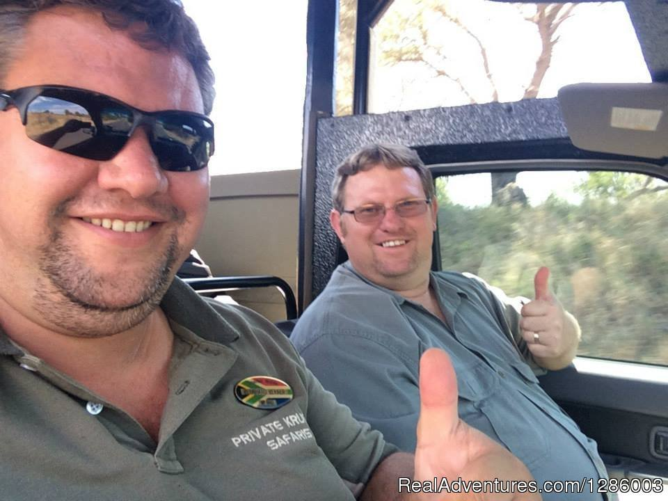 Friendly experienced guides | Image #12/16 | Private Kruger Park open vehicle safaris