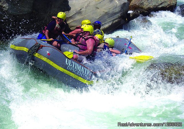 Rafting: at the wild and prestine himalayan rivers