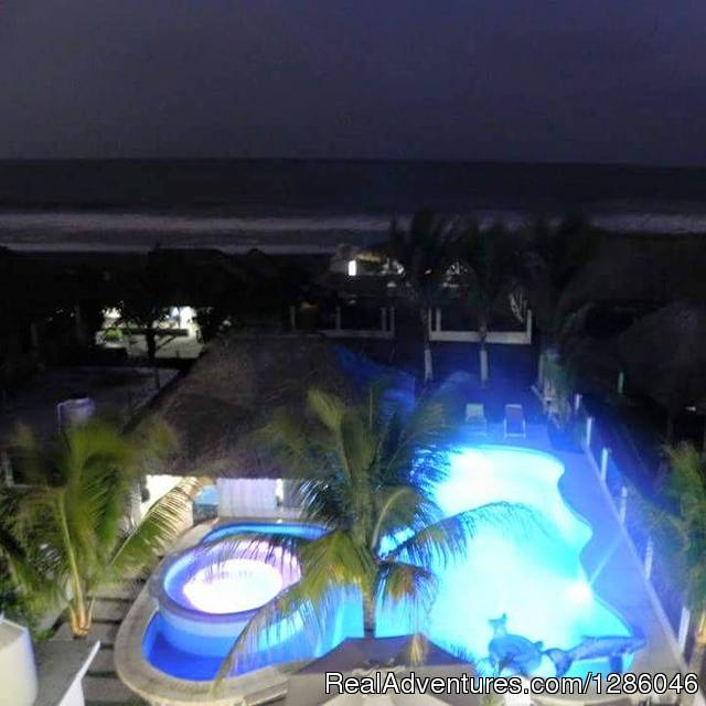 Pool - Ocean Front Hotel in Monterrico Guatemala