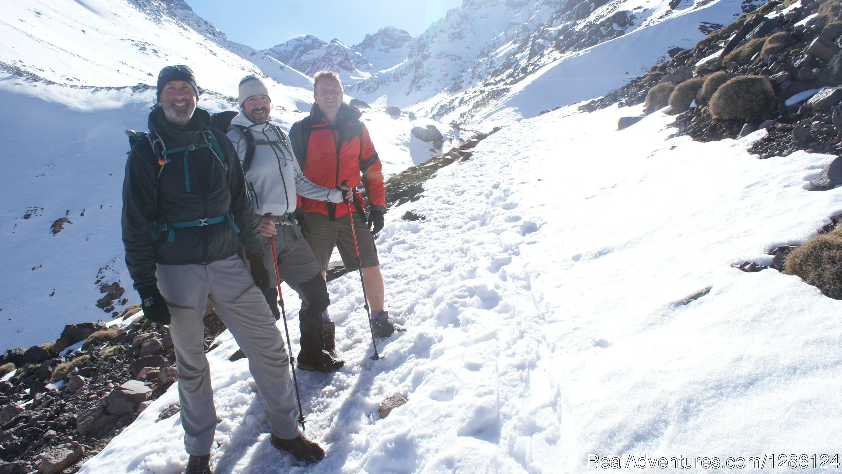 On the way to Toubkal
