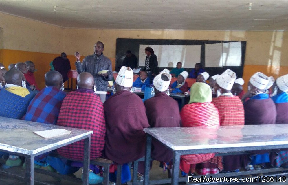 Women taking small business and microloan training | Image #8/13 | Safari, Maasai Development Project