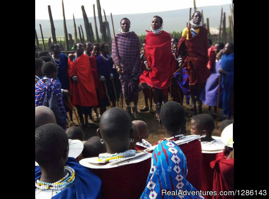 Maasai Dancers | Image #1/13 | Arusha, Tanzania | Wildlife & Safari Tours | Safari, Maasai Development Project