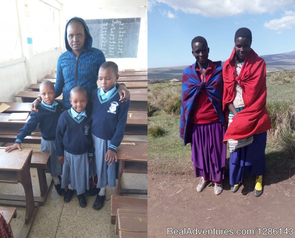 Girls in college, primary school, high school | Image #11/13 | Safari, Maasai Development Project